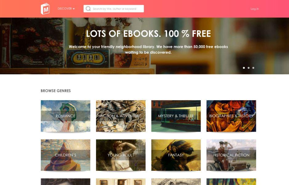 ManyBooks العديد من الكتب المجانية