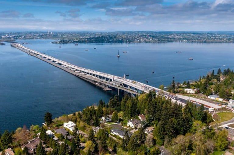 معلومات مهمة حول الجسور العائمة: إستبدال جسر SR 520 في واشنطن